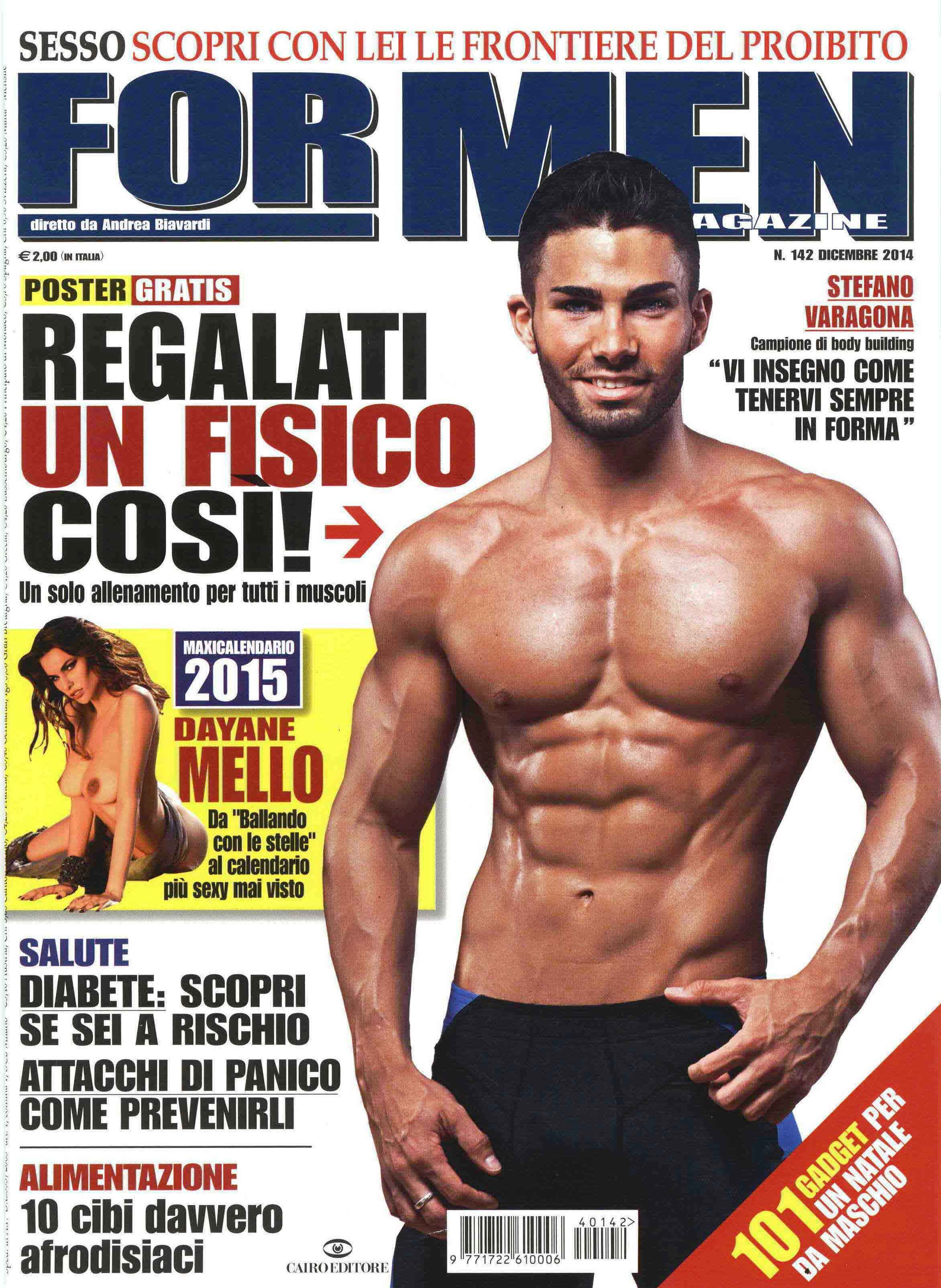 For Men Calendario.For Men Magazine Nerogiardini